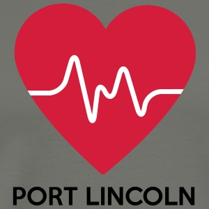 Heart Port Lincoln - Men's Premium T-Shirt