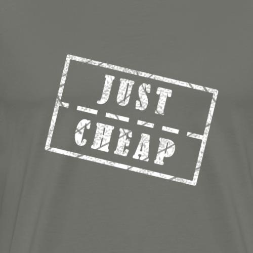 Just Cheap white - Männer Premium T-Shirt