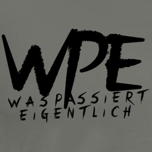WPE Schrift grün - Männer Premium T-Shirt