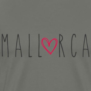 Mallorca with heart - Men's Premium T-Shirt