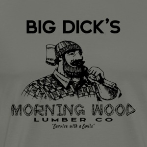 Morning Wood Lumber Lumberjack - Men's Premium T-Shirt