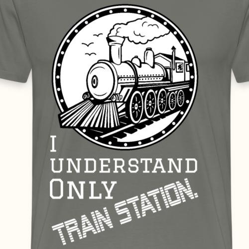 Train Station - weiß - Männer Premium T-Shirt