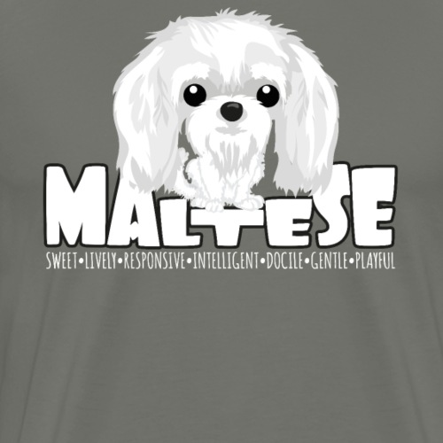 Maltese - DGBighead - Men's Premium T-Shirt