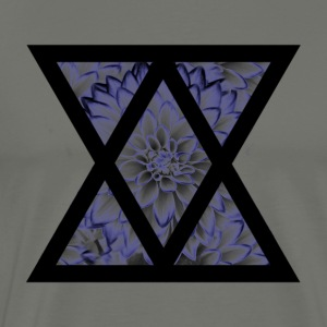 Floral Triangle - Men's Premium T-Shirt