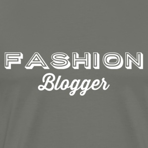 Fashion Blogger 2 - hvid - Herre premium T-shirt