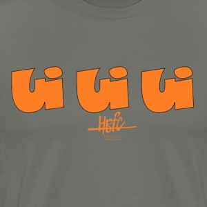 HBFC UiUiUi Orange Edition - Männer Premium T-Shirt