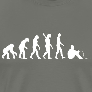 evolution GAMER w - Herre premium T-shirt