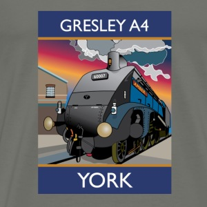 Train Gresley A4 - T-shirt Premium Homme