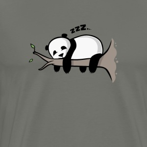 Cute Sleeping Panda - Men's Premium T-Shirt
