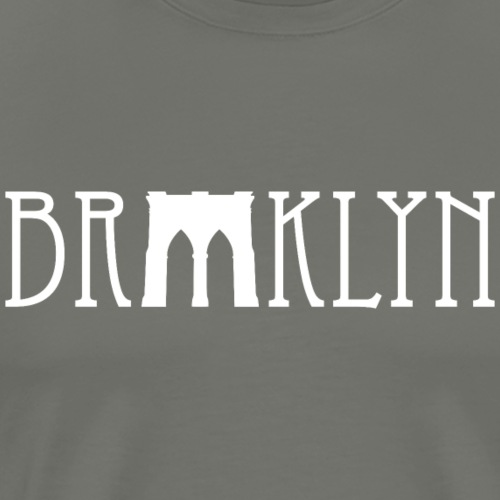 Brooklyn bridge - T-shirt Premium Homme