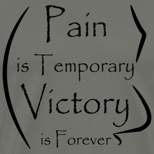 Banner Design Pain Victory - Men's Premium T-Shirt