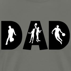 Basketball DAD - Mannen Premium T-shirt