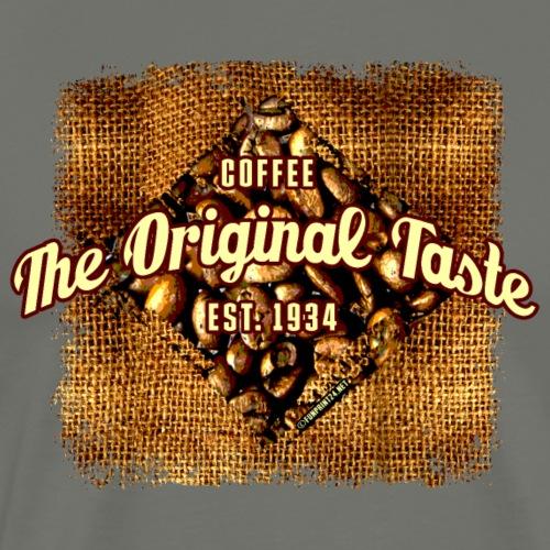 06-35 Original Taste coffee series. - Miesten premium t-paita