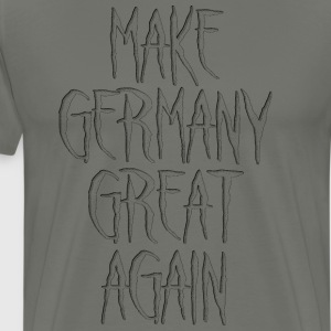 Make Germany Great Again Schwarz - Männer Premium T-Shirt