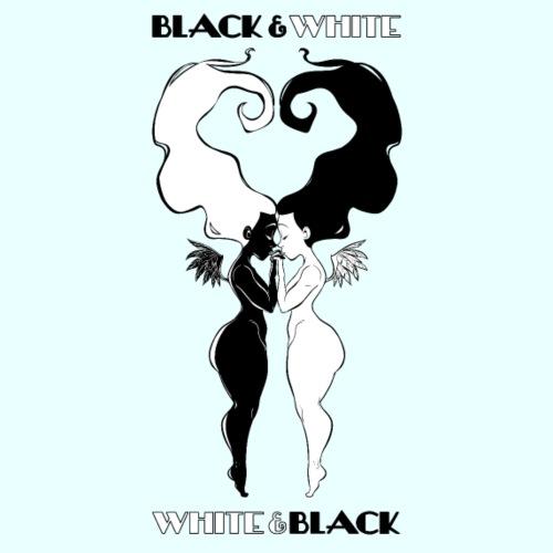 Black&White - Maglietta Premium da uomo