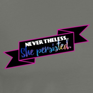 She persisted! - Männer Premium T-Shirt