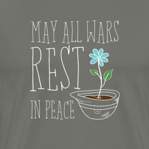 Mogen alle Wars Rest In Peace - Mannen Premium T-shirt