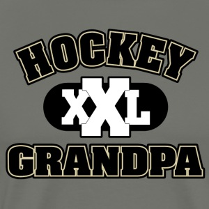 Hockey Grandpa Grandfather - Men's Premium T-Shirt
