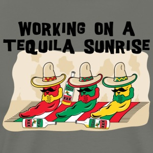 Tequila Sunrise - Premium T-skjorte for menn