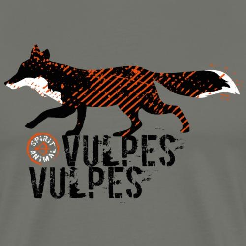 Spirit Animal Rotfuchs (Bogenschießen by BOWTIQUE) - Männer Premium T-Shirt