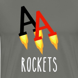 Poker Rockets - Premium T-skjorte for menn