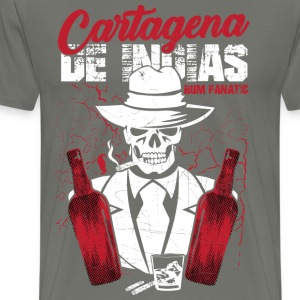 T-shirt Rum Fanatic - Cartagena des Indias - Men's Premium T-Shirt