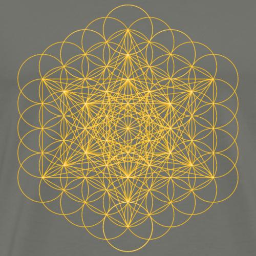 metatrons cube - Men's Premium T-Shirt