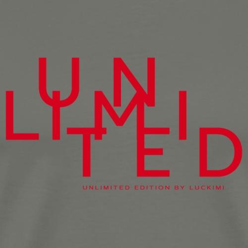 Unlimited red - Premium-T-shirt herr