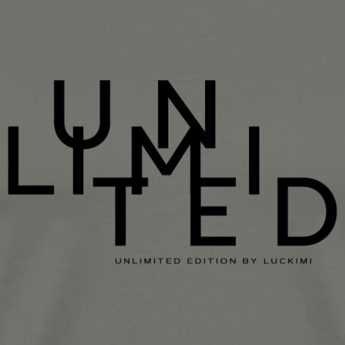 Unlimited black - Premium-T-shirt herr