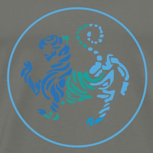karate tigre - Camiseta premium hombre