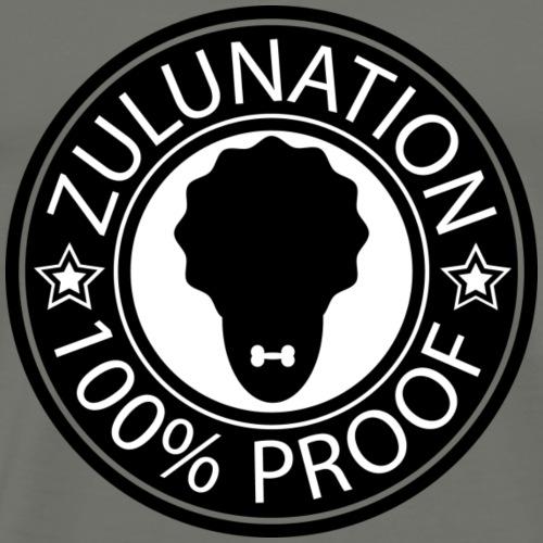 ZULUNATION STAMP - Männer Premium T-Shirt