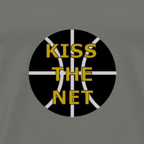 Kiss the net - Männer Premium T-Shirt
