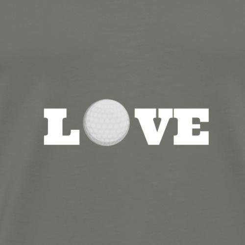 Love golf 2 - T-shirt Premium Homme