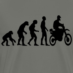 Human Evolution Enduro - Männer Premium T-Shirt