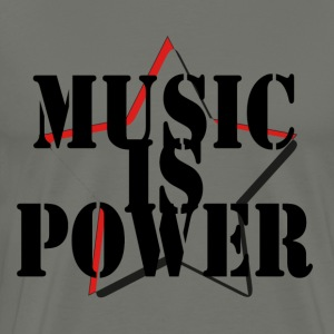 Music is Power - Men's Premium T-Shirt