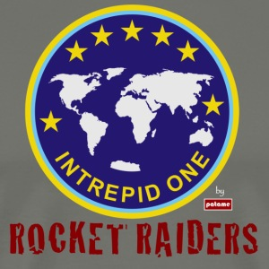 patame Intrepid One Logo Rocket Raiders - Men's Premium T-Shirt