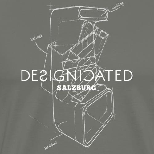 Designicated Salzburg weiß - Männer Premium T-Shirt