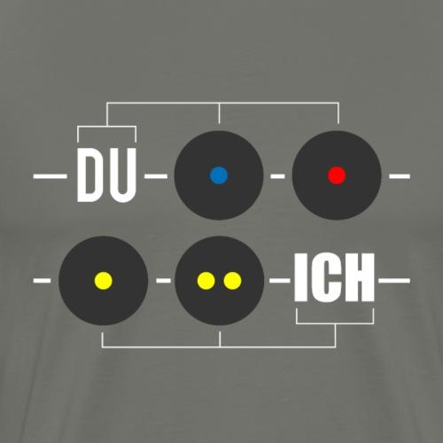 Squash Ball - Männer Premium T-Shirt
