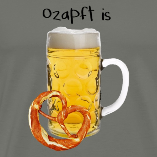 ozapft is - Männer Premium T-Shirt