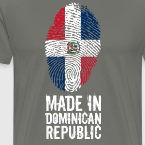 Made In Dominican Republic Dominikanische Republik - Männer Premium T-Shirt