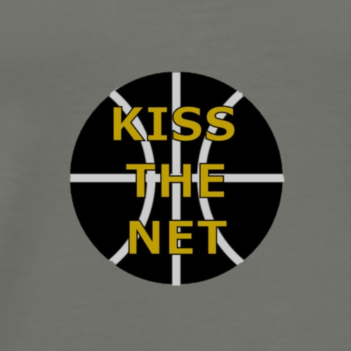 Kiss the net - Männer Premium T-Shirt