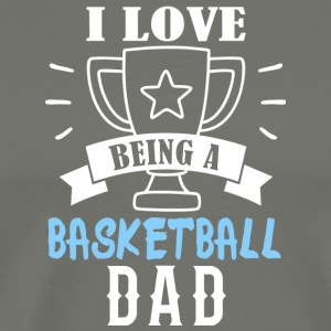 Basketball father - Men's Premium T-Shirt