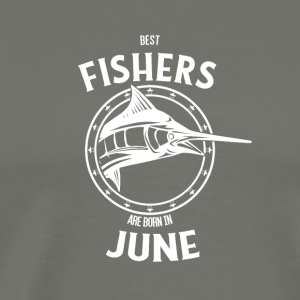 Present for fishers born in June - Men's Premium T-Shirt