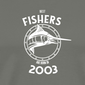 Present for fishers born in 2003 - Men's Premium T-Shirt
