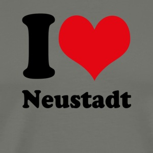 I love Neustadt - Men's Premium T-Shirt