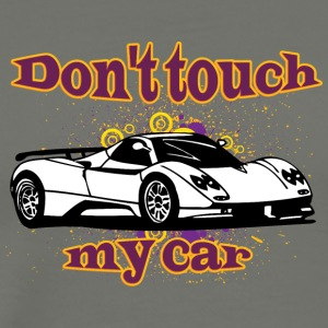 Don t touch my car white - Men's Premium T-Shirt