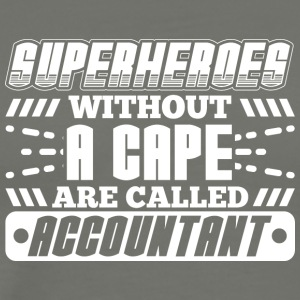 SUPER HEROES ACCOUNTANT - Premium T-skjorte for menn