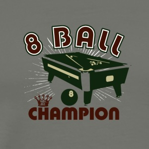 8 balls champion 01 - Men's Premium T-Shirt