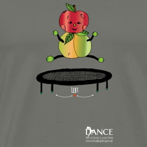 Trampolin Logo Dance - Männer Premium T-Shirt