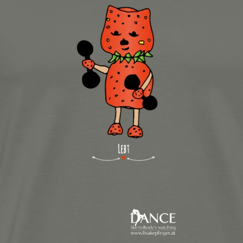 Kraftsport Logo Dance - Männer Premium T-Shirt